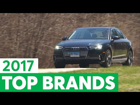 Consumer Reports 2017 Top Car Brands