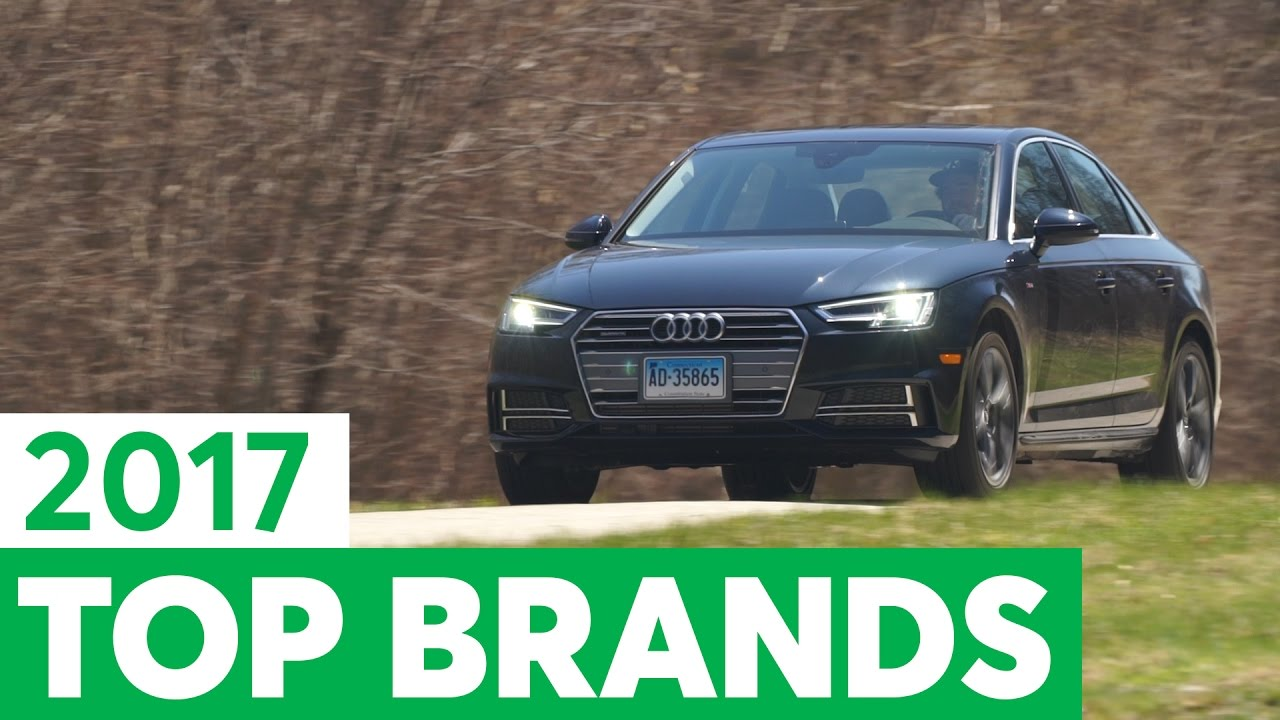 Consumer Reports 2017 Top Car Brands - YouTube