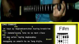 Kung Pwede Lang by Alexa Ilacad -  Guitar Chords