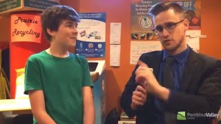 12 Year Old Seth Friesen's Business(Prairie Recycling)