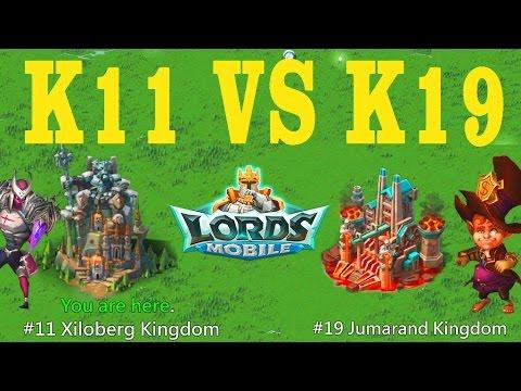 Kingdom VS Kingdom (k11 Vs K19) Solo 1.5mill Troops
