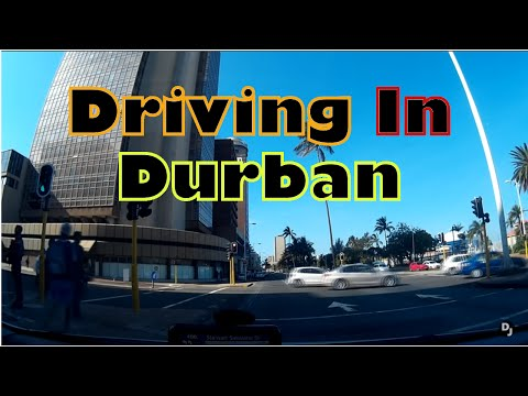 Driving in Durban, South Africa
