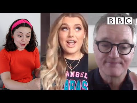 @Rachel Leary raving to @BBC News theme tune goes viral - BBC