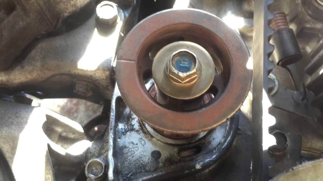 2000 Honda Accord 23 Lx Balancer Belt Installation Youtube 1992 Prelude Alternator Bolt