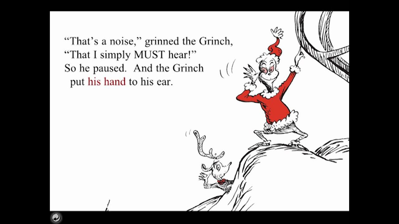 Grinch pdf stole the book how christmas