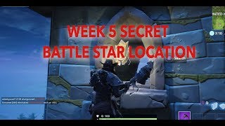 Semaine 5 Secret Battle Star - Fortnite - Saison 6
