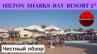 Честные обзоры отелей Египта HILTON SHARKS BAY RESORT 4 Шарм эль Шейх