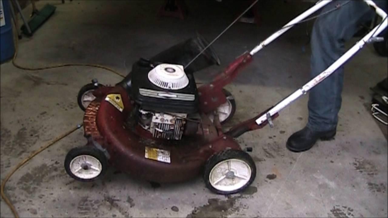 Vintage Snapper Push Mower Youtube