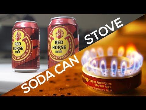 Build A Portable Soda Can Stove (DIY Jet Stove)
