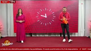 #EnVivo El Matutino - Jueves 6 de Mayo -