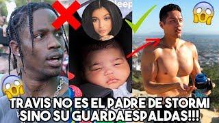 Travis Scott NO ES EL PADRE de La Hija de Kylie Jenner Sino SU GUARDAESPALDAS