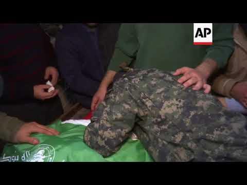 Download Youtube: Funeral for Hamas member killed in Israeli airstrike