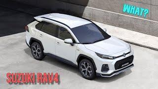 New Suzuki Across - based on Toyota RAV4! Japan Collaboration