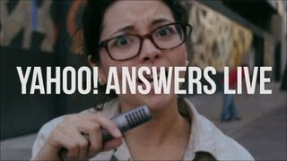 Yahoo! Answers Live - Santo Robot