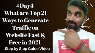 What are Top 21 Wąys to Generate Traffic on My Website Fast and Free in 2021