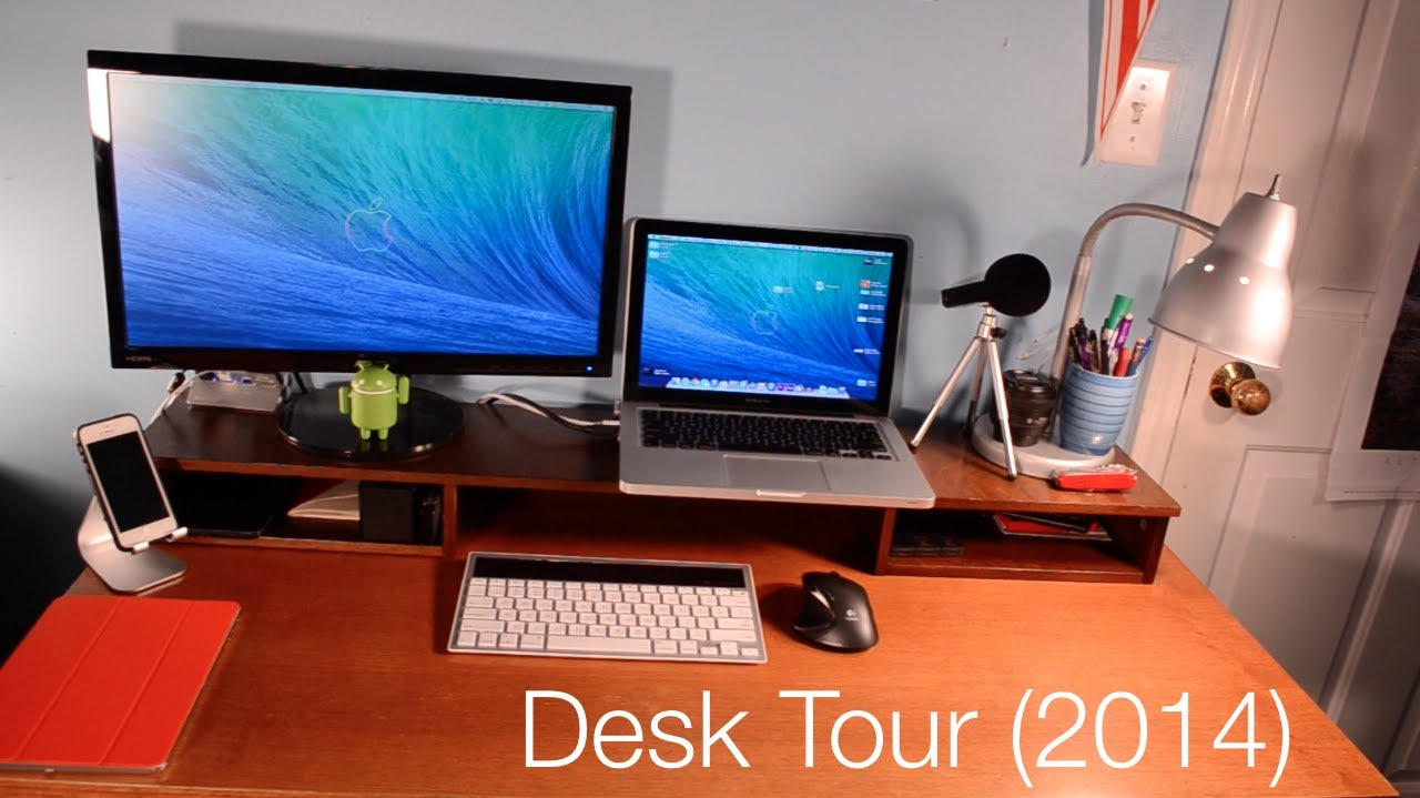 1fecc8ef3df Desk Setup Tour 2014 (MKBHD Project) - YouTube