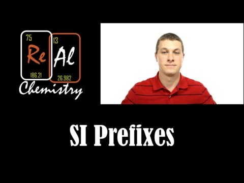 Introduction to SI Prefixes - Real Chemistry