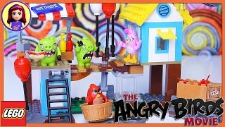 Lego Angry Birds Pig City Teardown Build Review Silly Play - Kids Toys