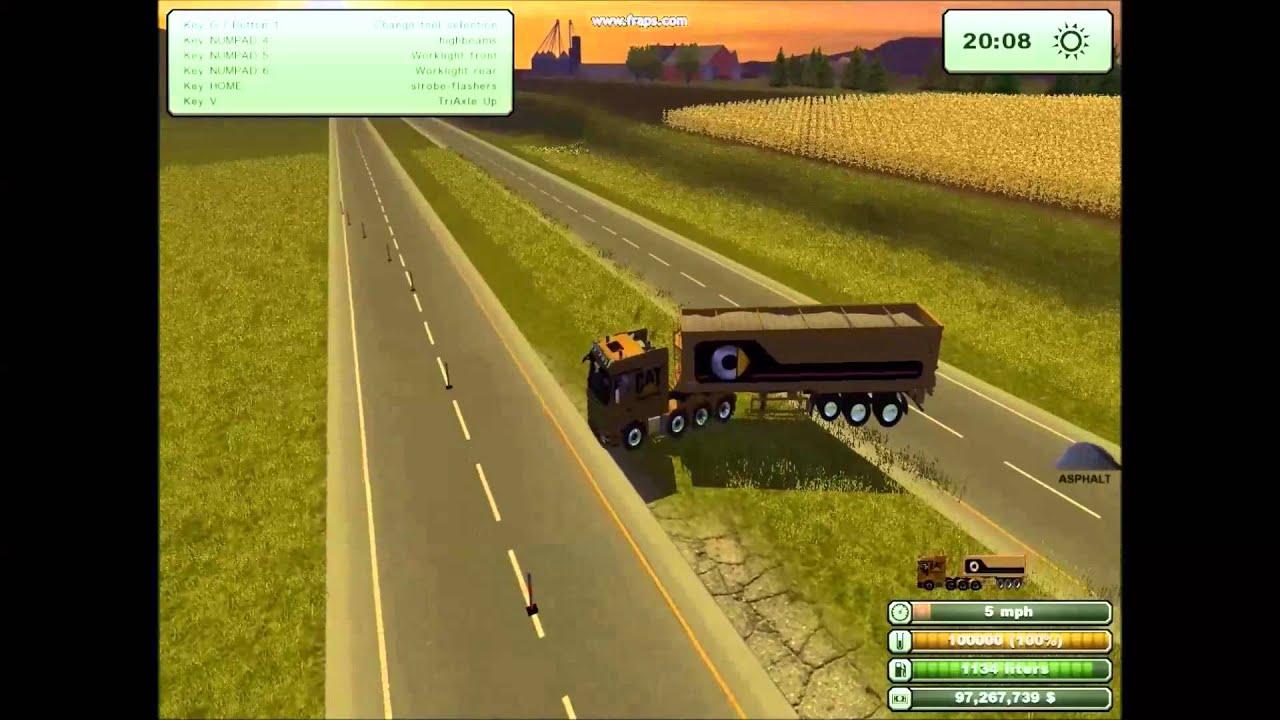 Canadian Map Farming Simulator 2015%0A East RiverWest River South Dakota Map For Farming Simulator       YouTube