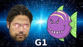 Hikaru Nakamura + Rybka vs Stockfish - Game 1 of 4