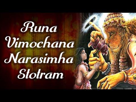 Runa Vimochana Narasimha Stotram