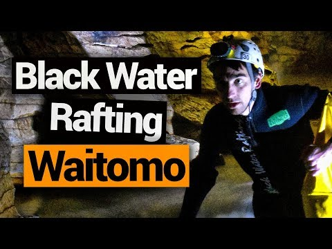 Black Water Rafting in Waitomo  - New Zealand's Biggest Gap Year  Backpacking Guide New Zealand
