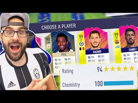 OMG 194!HIGHEST RATED FUT DRAFT EVER!! FIFA 18 Ultimate Team