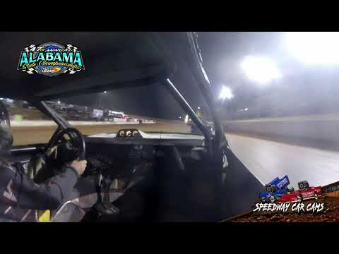 #30 Timmy Bosley - Hotshot - 9-21-19 East Alabama Motor Speedway - In-Car Camera