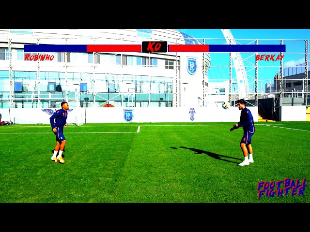⚽️🔥 FOOTBALL FIGHTER | Robinho vs Berkay Özcan