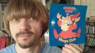 Cookie Crisp Magic Club --(Weird Paul)  COOKIE JARVIS cereal magic set