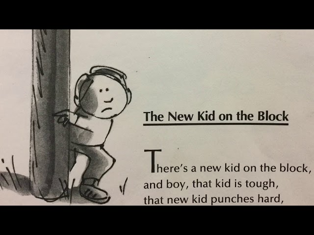 """The Poem """"The New Kid on the Block"""" by Jack Prelutsky"""