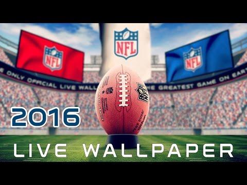 NFL 2015-2016 3D Live Wallpaper