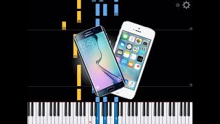 Cell Phone Ringtones On Piano ( Nokia, Iphone, Android )
