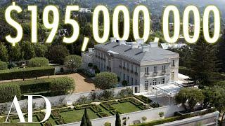 inside a $195 Million Bel Air Estate With Secret Tunnels | On the Market | Architectural Digest