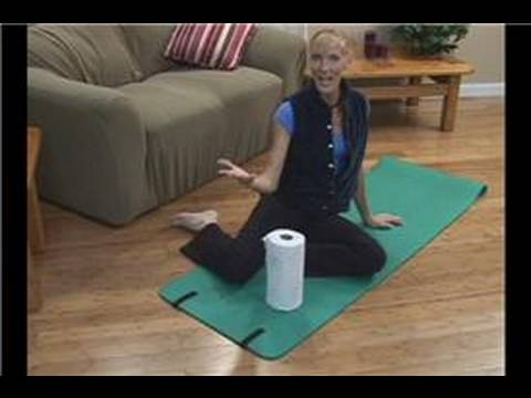 Paper Towel Fitness Exercises : Home Pilates Exercises ...