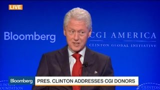 Clinton: Foundation Will Stand or Fall on Work It Does