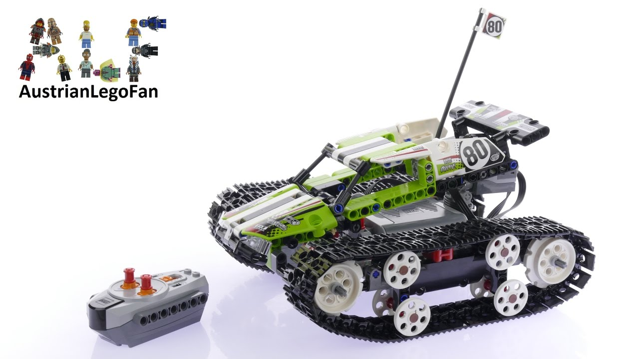 Lego Technic 42065 Rc Tracked Racer Lego Speed Build Review Youtube