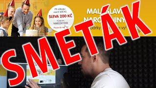 SMETÁK - MALL.cz sleva 200,- při nákupu nad 2000,- PRAVDA NEBO LEŽ?