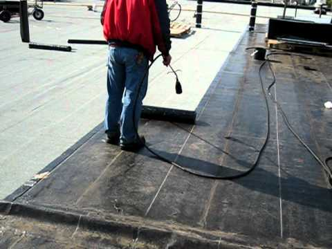 Gogolin Flat Roofing Torch Down Sbs Soprema Youtube