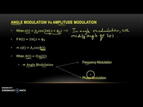 Angle Modulation Part I