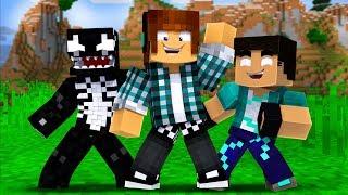 Minecraft : CHAMEI O REZENDE E O VENOMEXTREME PARA UMA NOVA AVENTURA !