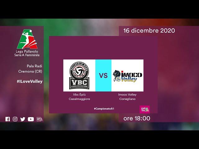 Casalmaggiore - Conegliano | Speciale | 14^Giornata Campionato | Lega Volley Femminile 2020/21