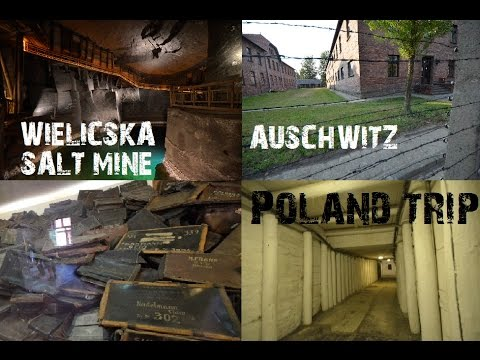 Trip to Poland - Wieliczka Salt Mine & Auschwitz Concentration Camp