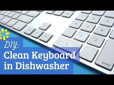 How to Clean Wired Aluminum Keyboard in Dishwasher