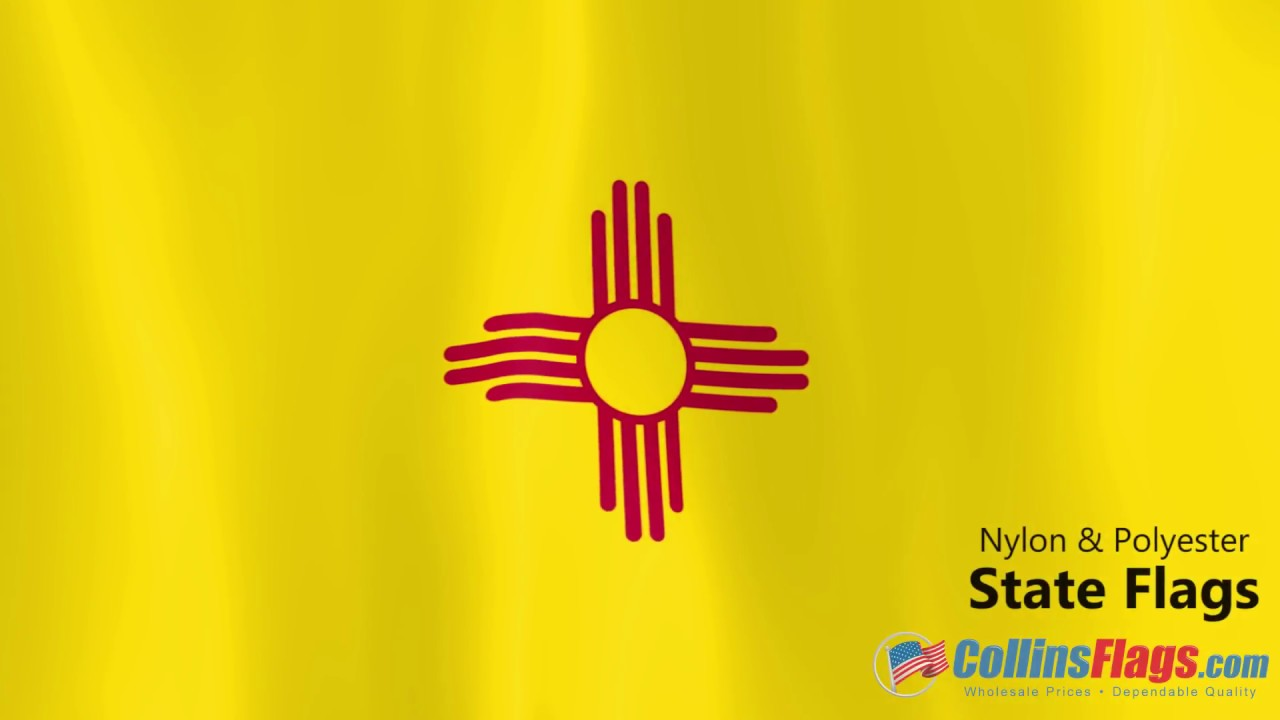 New Mexico State Flag Overview Youtube