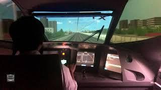 リニア・鉄道館 N700系新幹線 シミュレーター 体験! (練習編)