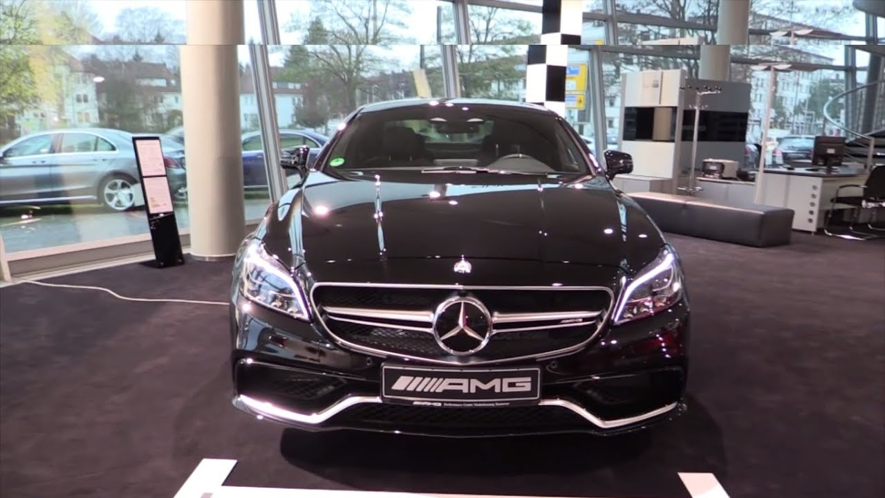 Mercedes Benz Cls63 S Amg Coupe 2016 Cls Cl 4 Matic Full In Depth Review Interior Exterior