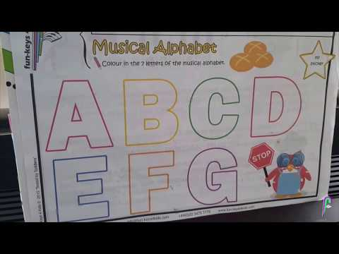 The Musical Alphabet: so fun and easy!