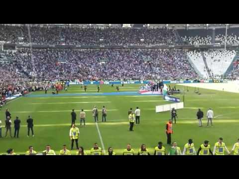 Juventus campione d'Italia 2016/2017: la premiazione di Massimiliano Allegri
