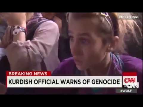 Dramatic Rescue of Iraqis Yezidis from Mount Sinjar - Rescue mission Iraq From ISIS 8_11_2014